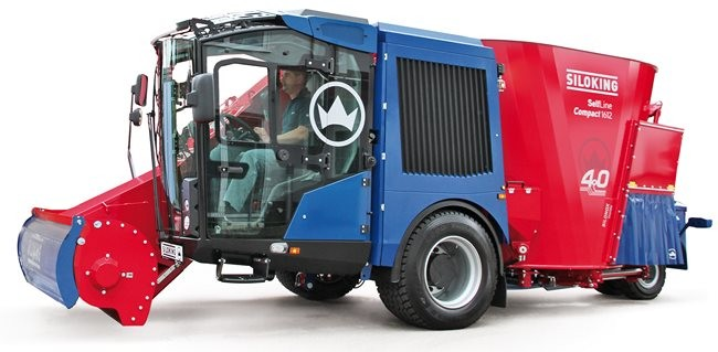 Zelfrijdende-voermengwagen